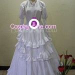 Agito (Wedding Dress version) from Air Gear Cosplay Costume front
