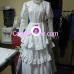 Agito (Wedding Dress version) from Air Gear Cosplay Costume front prog