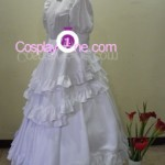 Agito (Wedding Dress version) from Air Gear Cosplay Costume side