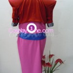 Aerith Gainsborough from Final Fantasy VII Cosplay Costume back