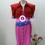 Aerith Gainsborough from Final Fantasy VII Cosplay Costume front