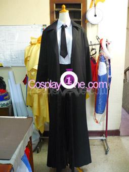Kuroudo Akabane from GetBackers Cosplay Costume front prog