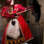 Alice Cosplay Costume from Kingdom Hearts 4
