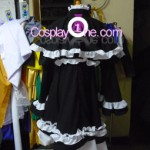 Saotome Alto from Macross Frontier Cosplay Costume back prog