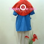 Ashitaka from Princess Mononoke Cosplay Costume back