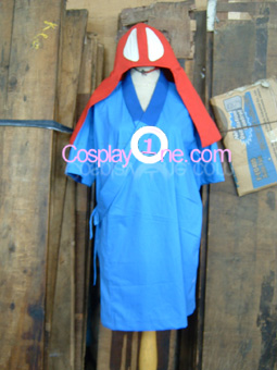Ashitaka from Princess Mononoke Cosplay Costume front prog