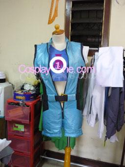 Asuka Kazama from Tekken Video Game Cosplay Costume front prog