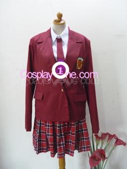 Asuna Kagurazaka from Negima Cosplay Costume front