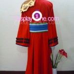 Auron from Final Fantasy X Cosplay Costume back R