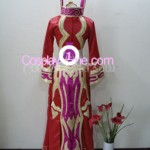 Blood Elf Priest from World of Warcraft Cosplay Costume back