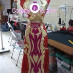 Blood Elf Priest from World of Warcraft Cosplay Costume front prog