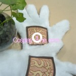 Beastmaster from Dota 2 Cosplay Costume gloves