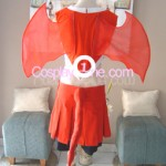 Bats Cheerleader Cosplay Costume Back