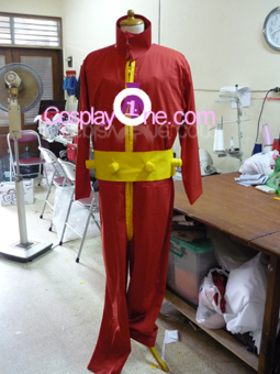 Bucky Cosplay Costume front prog