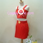 Bulma from Dragon Ball Z Cosplay Costume side