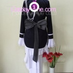 Ciel Phantomhive Black from Black Butler Cosplay Costume back