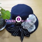 Ciel Phantomhive Black from Black Butler Cosplay Costume hat