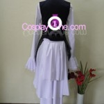 Ciel Phantomhive Black from Black Butler Cosplay Costume in back