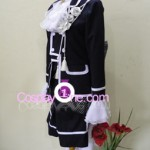 Ciel Phantomhive Black from Black Butler Cosplay Costume side
