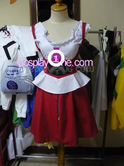 C.C. from Code Geass Cosplay Costume front prog