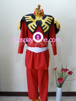 Char Aznable from Mobile Suit Gundam Cosplay Costume front