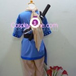 Chester Barklight from Tales of Phantasia Cosplay Costume back