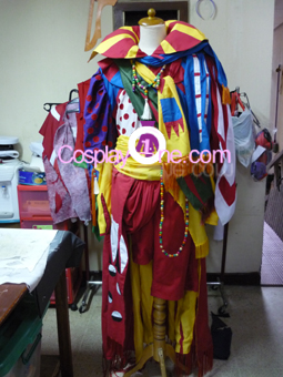 Clown Cosplay Costume front 2 prog