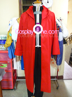 Edward Elric from Fullmetal Alchemist Cosplay Costume front prog