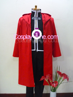 Edward Elric from Fullmetal Alchemist Cosplay Costume front