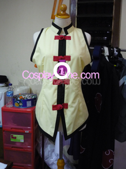 Ein from Anime Cosplay Costume front R prog