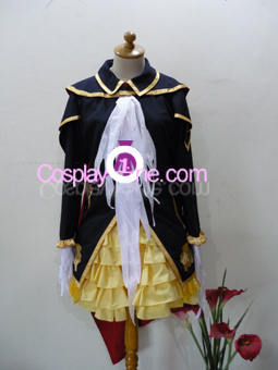 Elegan Gothic Lolita from Anime Cosplay Costume front