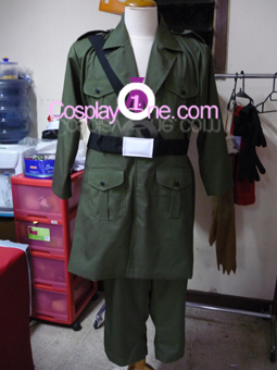 England from Hetalia Cosplay Costume front prog