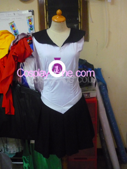 Sailor Pluto from Sailor Moon Cosplay Costume front prog
