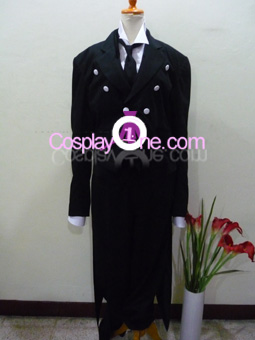 Sebastian Michaelis from Black Butler Cosplay Costume front