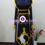 Shiki from Black Cat Cosplay Costume front