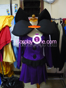 Shauntal from Pokemon Cosplay Costume front prog