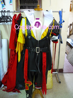 Tidus from Final Fantasy X Cosplay Costume front prog