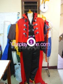 Vincent Valentine from Final Fantasy VII Cosplay Costume front prog