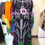 Crimson Acolyte Robe from World of Warcraft Cosplay Costume front prog2