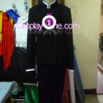 Watanuki Kimihiro from Clamp Cosplay Costume front prog