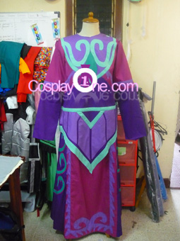 World of Warcraft Priest Tier 11 Cosplay Costume front prog