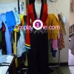 Yasuri Shichika from Katanagatari Cosplay Costume front prog