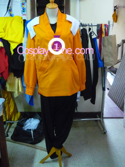 Yoruichi Shihoin from Bleach Cosplay Costume front prog