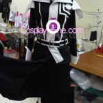 Yu Kanda from D.Gray-man Cosplay Costume front prog