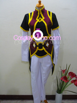Yuan Ka-Fai from Tales of Symphonia Cosplay Costume front R