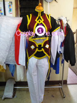 Yuan Ka-Fai from Tales of Symphonia Cosplay Costume front prog