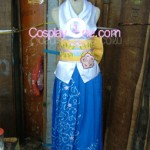 Yuna from Final Fantasy X Cosplay Costume front prog