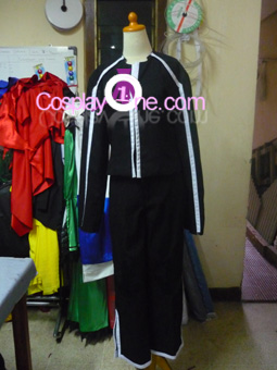 Yuri Hyuga from Shadow Hearts Cosplay Costume front prog