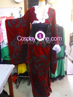 Yuuko Ichihara from xxxHolic Cosplay Costume front prog