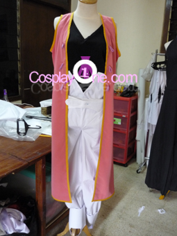 Zelos Wilder from Tales of Symphonia Cosplay Costume front prog